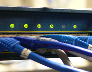 Image of a Network Switch